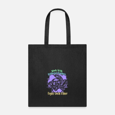 Vulture Fighting Eagles - Tote Bag