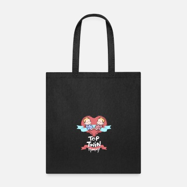 Evening Top Twin Mommy Quote Gift - Tote Bag