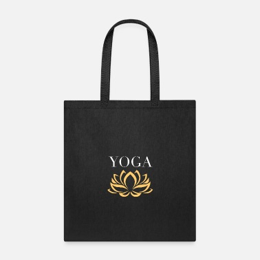 Om Yoga Lotus Flower - Tote Bag