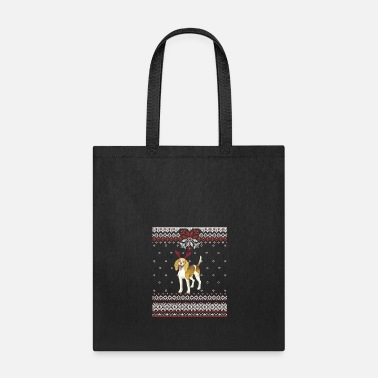Ugly Christmas American Foxhound Ugly Christmas GraphicDog Owner - Tote Bag