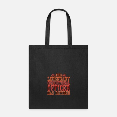 Prison Correctional Officer Retires - Tote Bag