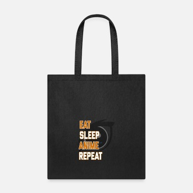 Senpai Funny Eat Sleep Anime Repeat product for Geeks - Tote Bag