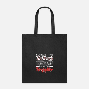 Paper Fire department firefighter - Tote Bag