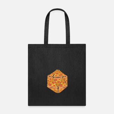 Dice Pizza Dice Dungeon RPG tabletop gamer gift - Tote Bag