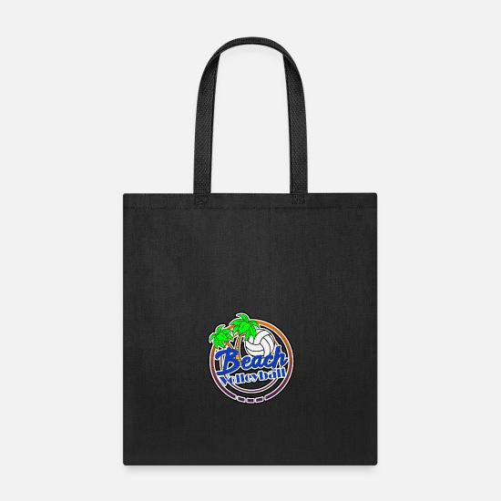 Ace Bags & Backpacks - Beach volleyball beach Beach - Tote Bag black