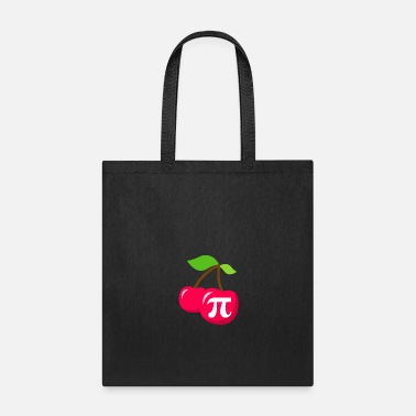 Pi Cherry Pi - Pi Day Math design - Tote Bag