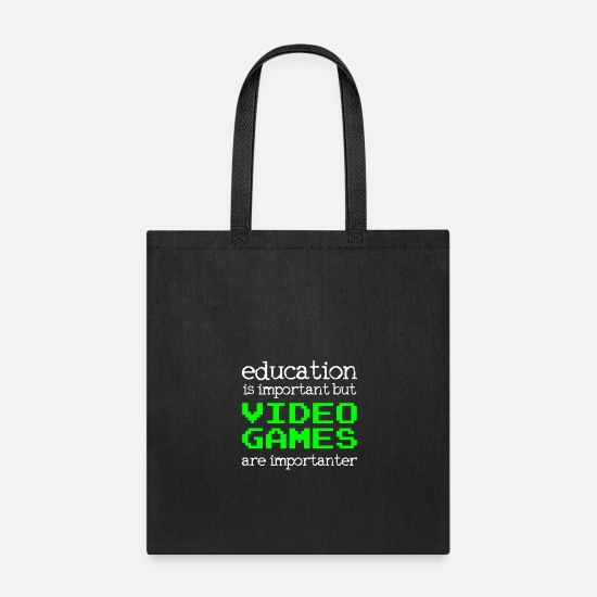 Video Bags & Backpacks - Video Gamer - Tote Bag black