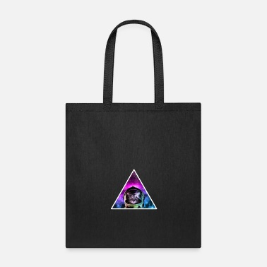 Missile triangle of a astronaut cat for cat owner - Tote Bag