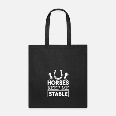 Equitation horse rider horse riding stable grey pony - Tote Bag