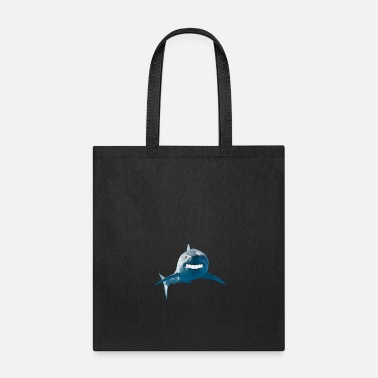 Marine Shark With Human printth graphic - Tote Bag