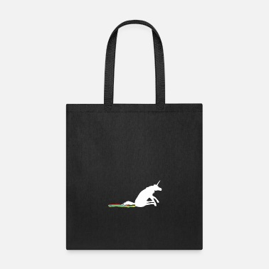Hilarious Funny Unicorn Rainbow Whipe Off - Tote Bag