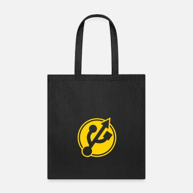 Usb Symbol button usb port - Tote Bag