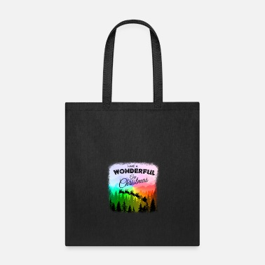 Lesbian Have a Wonderful Gay Christmas LGBT - Tote Bag
