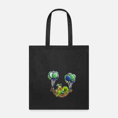 Hammock chill toad in a hammock - Tote Bag