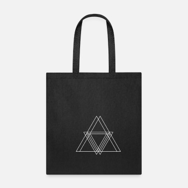 Symbols & Shapes Triangle geometric symbols shapes gift hipster - Tote Bag