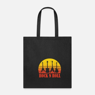 Home &amp Rock and Roll Rocknroll guitar rock n roll gift - Tote Bag