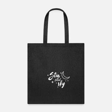 Girlfriend Star moon Sky gift space astronomy planet universe - Tote Bag