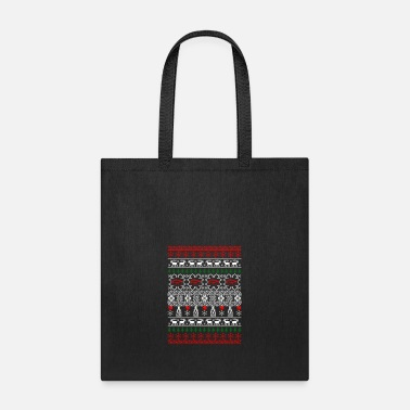 Ophthalmologist Optician Ophthalmologist Ugly Christmas Sweater - Tote Bag