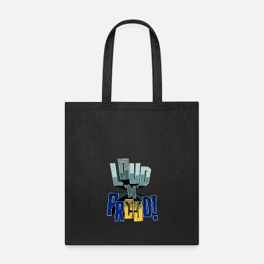 Loud Barbados Pride Loud N Proud - Tote Bag