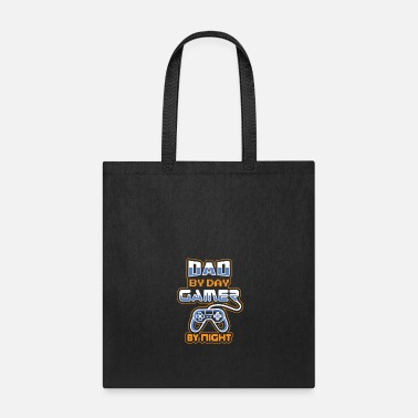 Video Video Gamer Dad / Old Gamer Daddy Gaming Father - Tote Bag