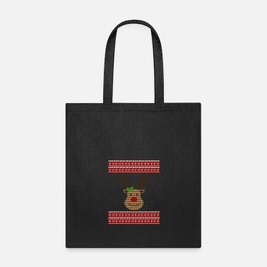 Association UGLY CHRISTMAS HERZMUSTER - Tote Bag