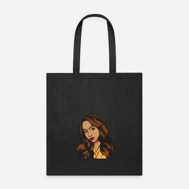 African American Pretty lady Fashion Model African American Ethnic - Tote Bag