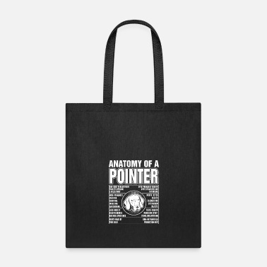 Pointer Anatomy Of A Pointer - Tote Bag