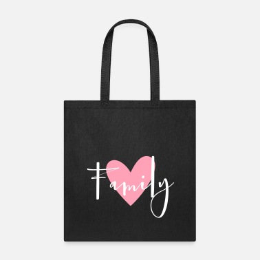 Family Party Family heart love gift idea - Tote Bag