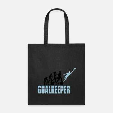 Goalkeeper goalkeeper evolution evolution goalkeeper goalkeep - Tote Bag
