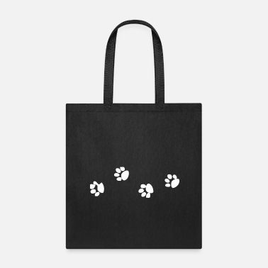 Paw Print Paw Prints - Tote Bag