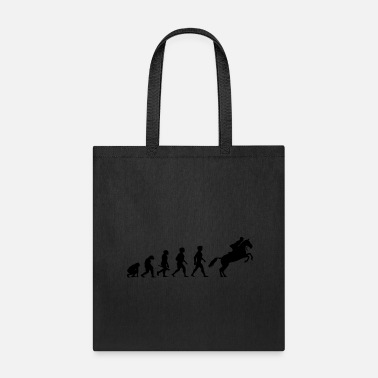 Equitation Evolution Horses Riding Harness Racing Equitation - Tote Bag