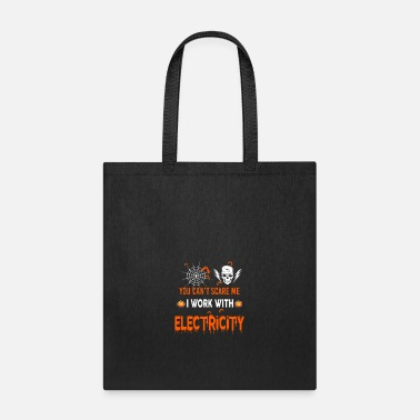 Electrical Line Electricity I Work With Electricity - Tote Bag