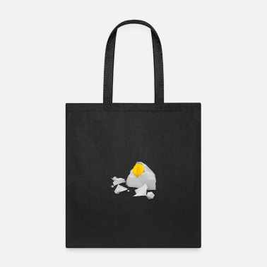 Bitcoin Miner Mining Rocks Cryptocurrency Crypto - Tote Bag