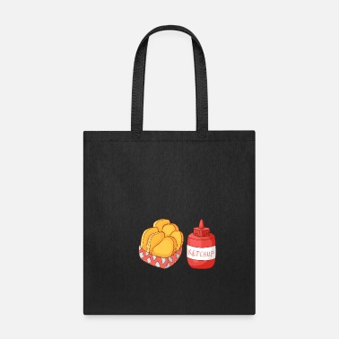 Food French Fries Ketchup - Tote Bag