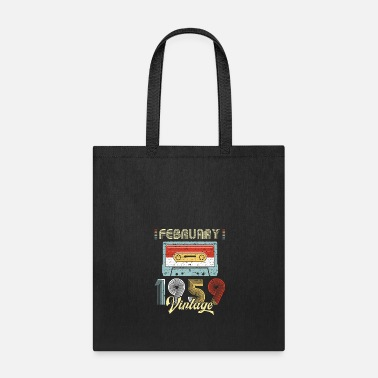 Turn February 1959 Casette Tape Vintage 60th Birthday - Tote Bag