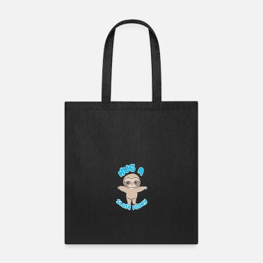 Chill Sloth gift idea - Tote Bag