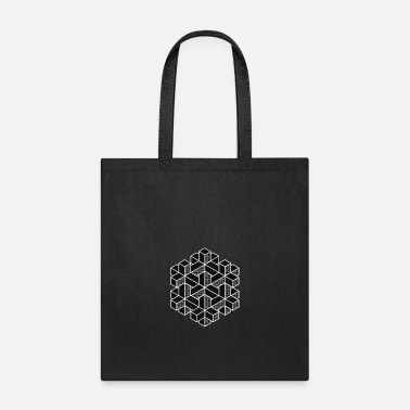 Cube Artistic. Abstract. Cube - Tote Bag