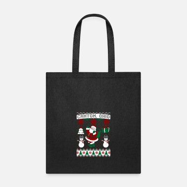 Canton Christmas Ugly Sweater Canton Ohio - Tote Bag