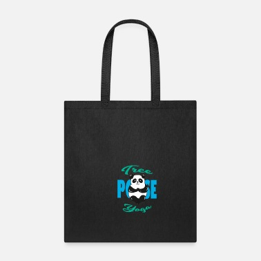 Body Yoga sports meditation gift idea - Tote Bag
