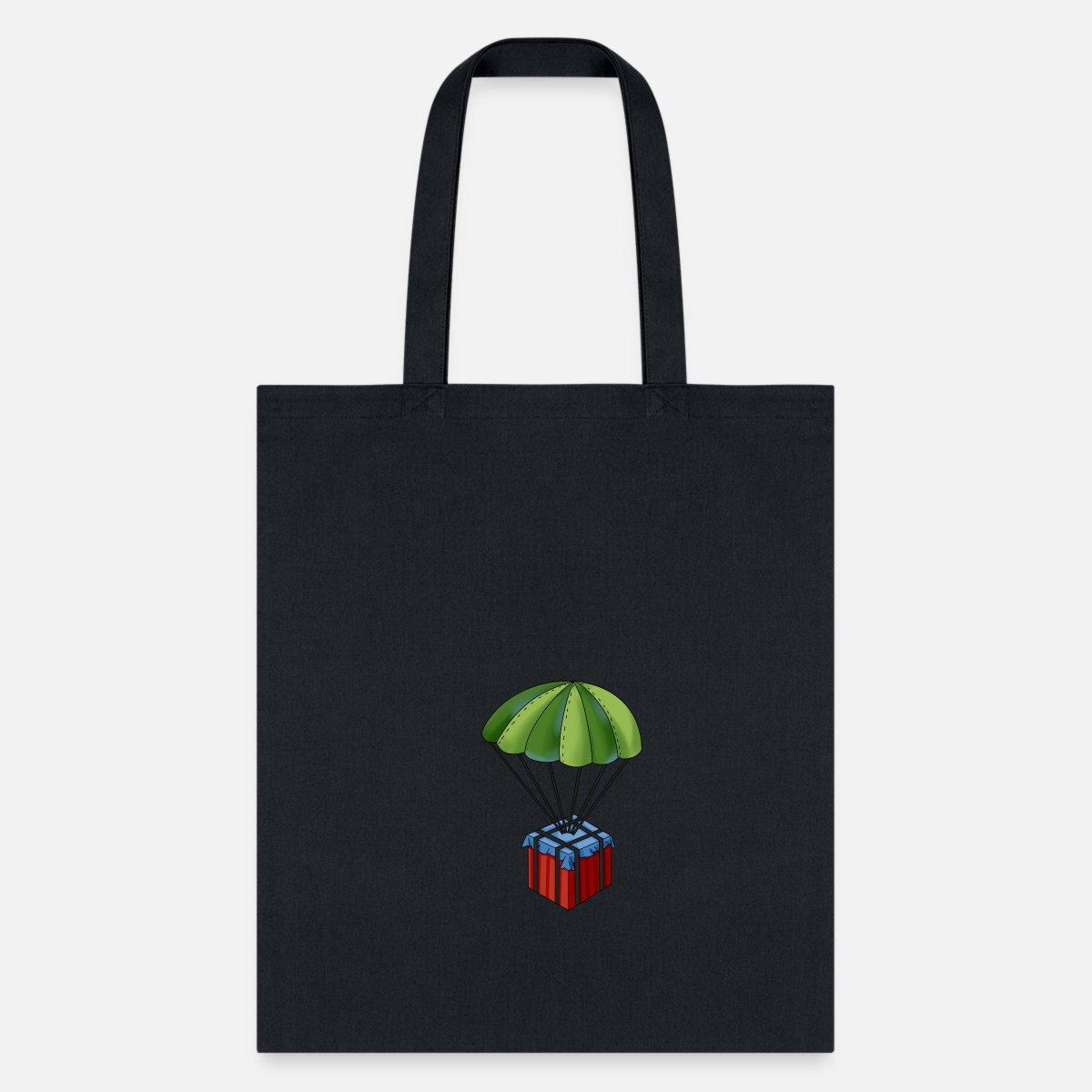 Battlegrounds Pubg Parachute Tote Bag Spreadshirt