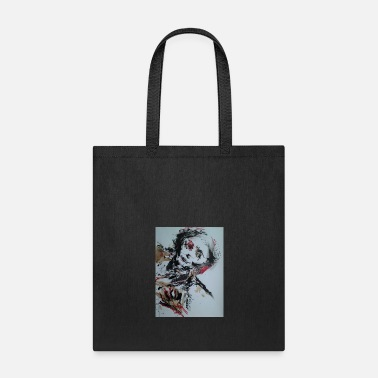 Quirk Klub Dead: Suicide Skull by Quentin Q5 Quirk - Tote Bag
