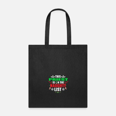 PRIEST - ACCURATE CHRISTMAS - Tote Bag