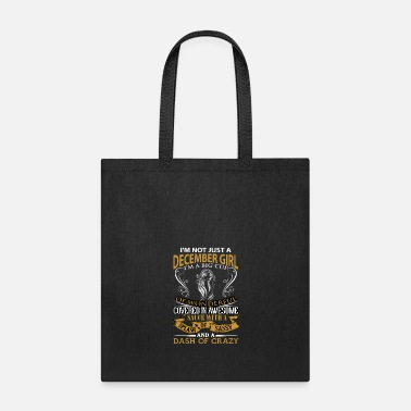 Note Clue I m not just a December girl - Tote Bag