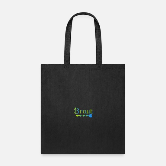 Engagement Bags & Backpacks - Bachelor Party - Tote Bag black