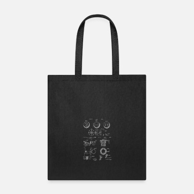 Basketball Lovers Gift Vintage Patent Prints - Tote Bag