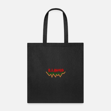 United States Of America Illinois - United States Of America - Tote Bag