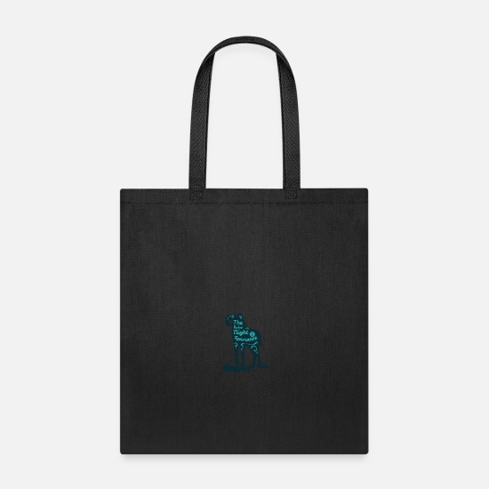 Tent Bags & Backpacks - The Darkest Night Is Ignorance - Tote Bag black