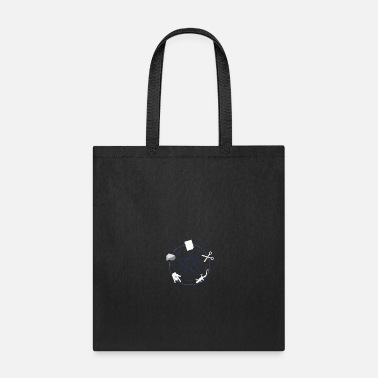 Rock Paper Scissors Rock Paper Scissors Lizard - Tote Bag