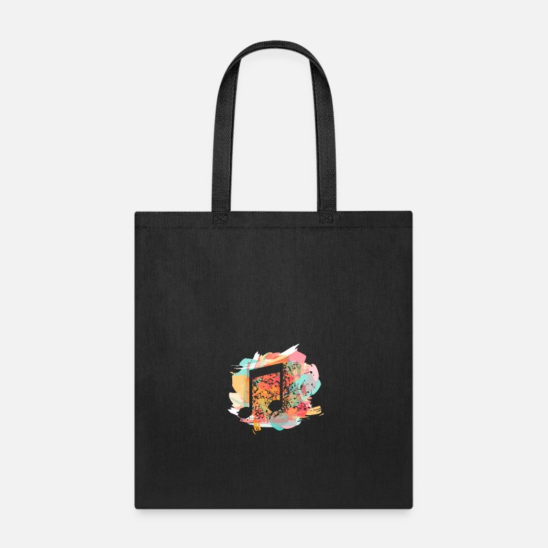Music Note Bags & backpacks - Music note - Tote Bag black