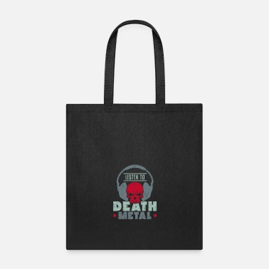 Heavy Listen to Death Metal christmas present kids - Tote Bag